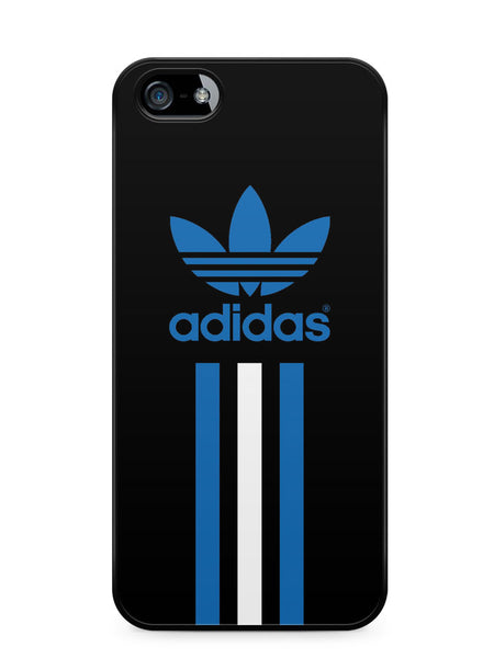 Adidas Blue and White Stripe Apple iPhone SE / iPhone 5 / iPhone 5s Case Cover  ISVA473