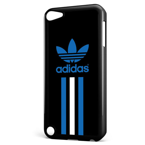 Adidas Blue and White Stripe Apple iPod Touch 5 Case Cover ISVA473