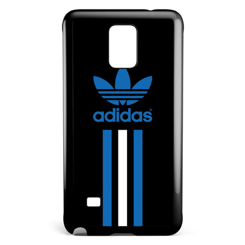 Adidas Blue and White Stripe Samsung Galaxy Note 4 Case Cover ISVA473