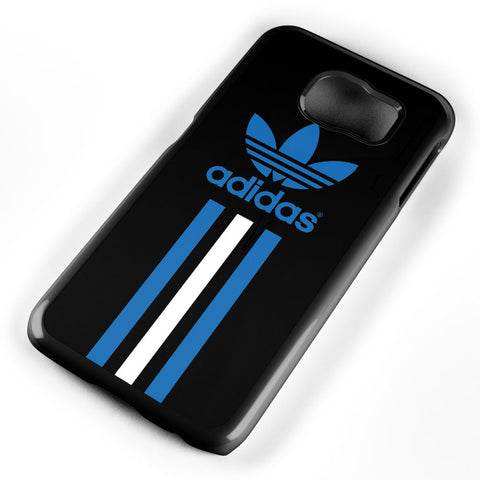 Adidas Blue and White Stripe Samsung Galaxy S6 Case Cover ISVA473