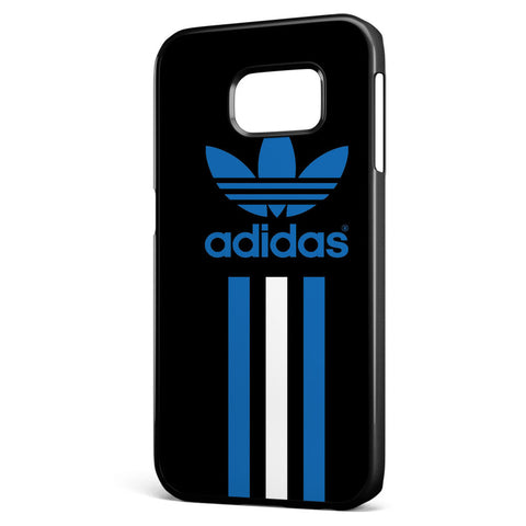 Adidas Blue and White Stripe Samsung Galaxy S6 Edge Case Cover ISVA473