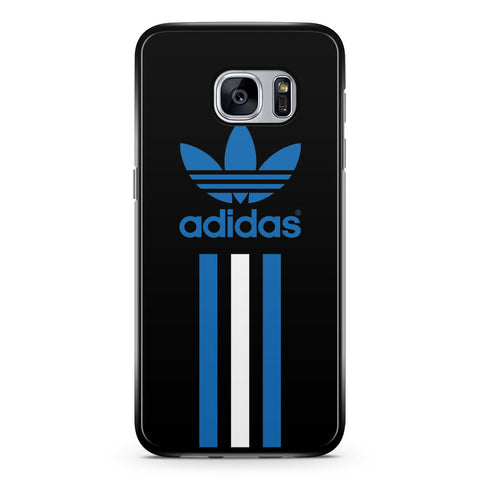 Adidas Blue and White Stripe Samsung Galaxy S7 Case Cover ISVA473