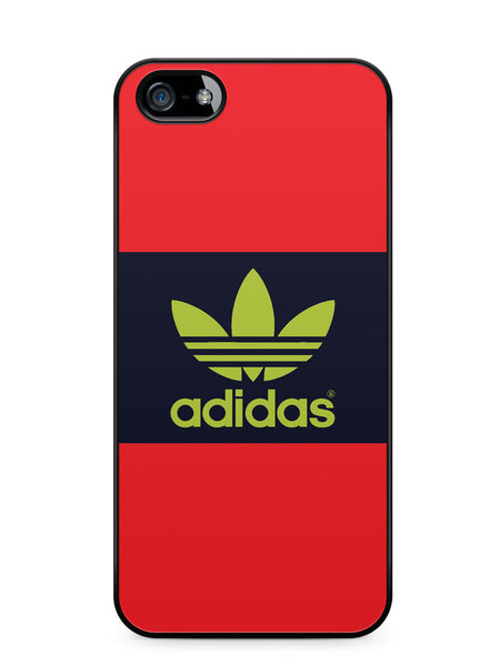 Adidas Red and Blue Logo Apple iPhone SE / iPhone 5 / iPhone 5s Case Cover  ISVA474