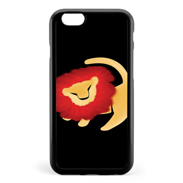 Adult Simba Minimalist Apple iPhone 6 / iPhone 6s Case Cover ISVH318