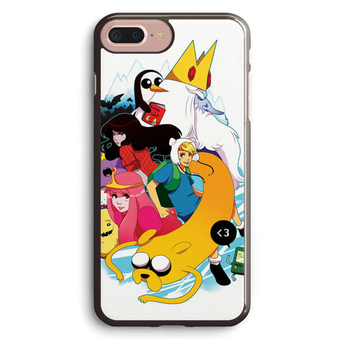 Adventure Time Anime Version Apple iPhone 7 Plus Case Cover ISVB357
