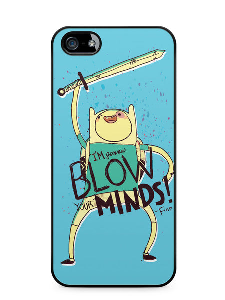 Adventure Time Finn Blow Minds Apple iPhone SE / iPhone 5 / iPhone 5s Case Cover  ISVA408