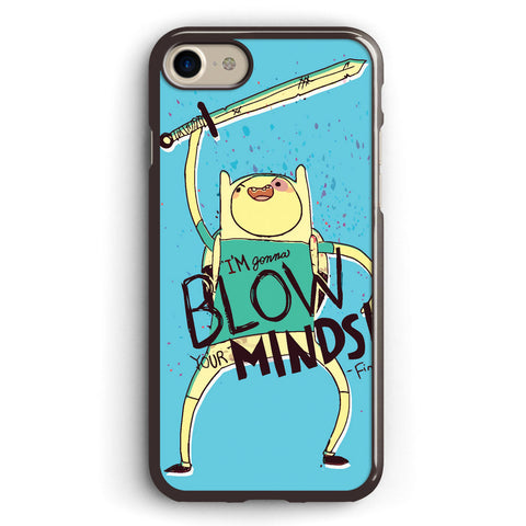 Adventure Time Finn Blow Minds Apple iPhone 7 Case Cover ISVA408