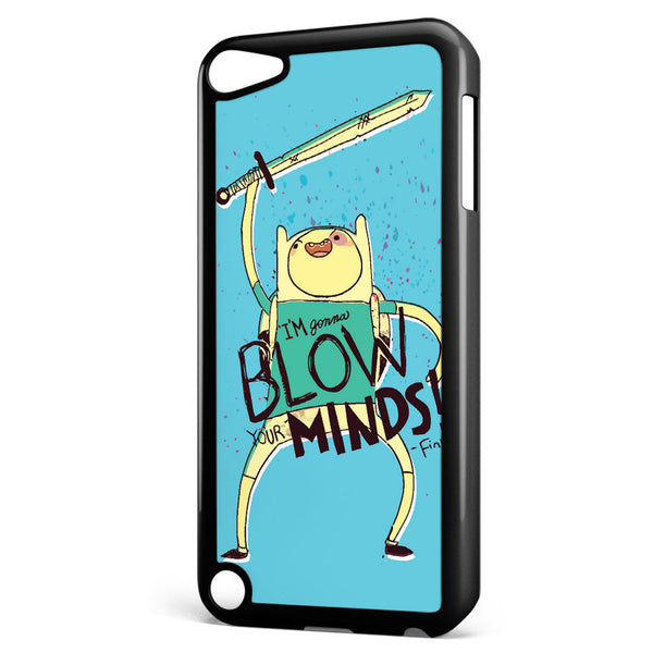 Adventure Time Finn Blow Minds Apple iPod Touch 5 Case Cover ISVA408
