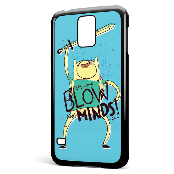 Adventure Time Finn Blow Minds Samsung Galaxy S5 Case Cover ISVA408