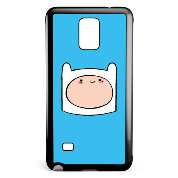 Adventure Time Finn Head Samsung Galaxy Note 4 Case Cover ISVA407
