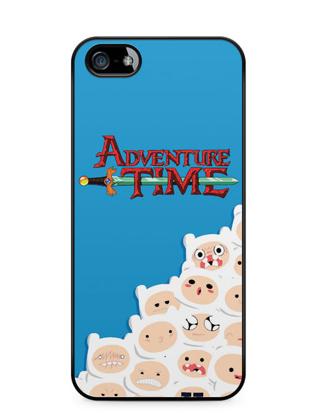 Adventure Time Finn Pattern Apple iPhone SE / iPhone 5 / iPhone 5s Case Cover  ISVA421