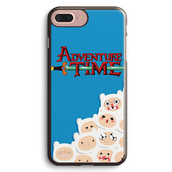 Adventure Time Finn Pattern Apple iPhone 7 Plus Case Cover ISVA421