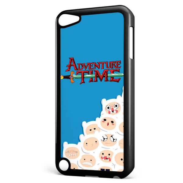 Adventure Time Finn Pattern Apple iPod Touch 5 Case Cover ISVA421