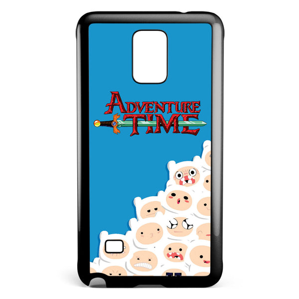 Adventure Time Finn Pattern Samsung Galaxy Note 4 Case Cover ISVA421
