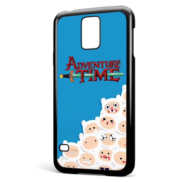 Adventure Time Finn Pattern Samsung Galaxy S5 Case Cover ISVA421