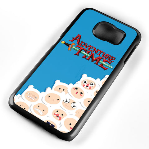 Adventure Time Finn Pattern Samsung Galaxy S6 Case Cover ISVA421