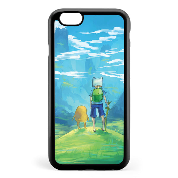 Adventure Time Finn and Jake Painting Apple iPhone 6 / iPhone 6s Case Cover ISVF996
