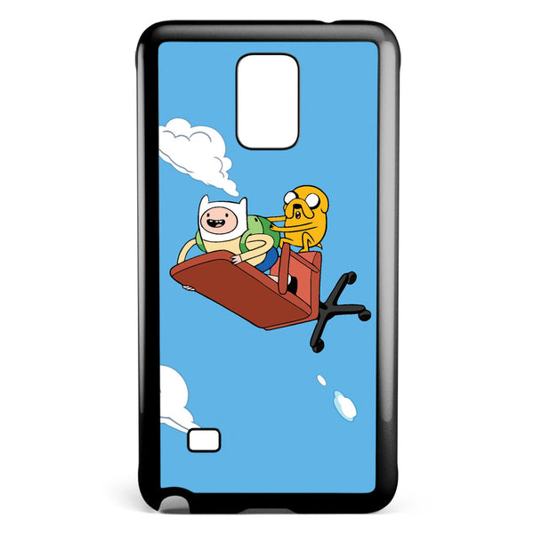 Adventure Time Flying Finn and Jack Samsung Galaxy Note 4 Case Cover ISVA413