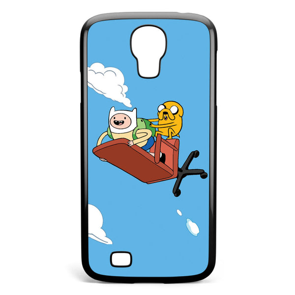 Adventure Time Flying Finn and Jack Samsung Galaxy S4 Case Cover ISVA413