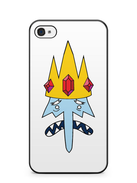 Adventure Time Ice King Apple iPhone 4 / iPhone 4S Case Cover ISVA420