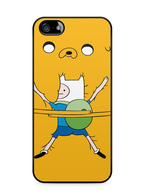 Adventure Time Jack Hug Finn Apple iPhone SE / iPhone 5 / iPhone 5s Case Cover  ISVA410
