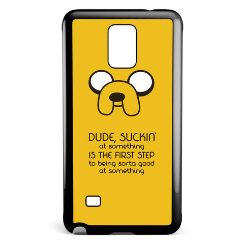Adventure Time Jack Quote Samsung Galaxy Note 4 Case Cover ISVA415