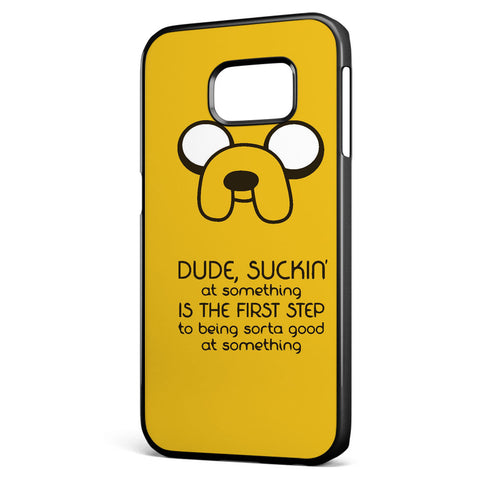 Adventure Time Jack Quote Samsung Galaxy S6 Edge Case Cover ISVA415