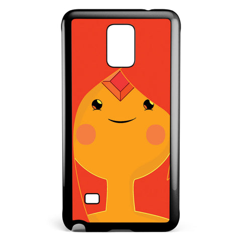 Adventure Time Princess Flame Samsung Galaxy Note 4 Case Cover ISVA418