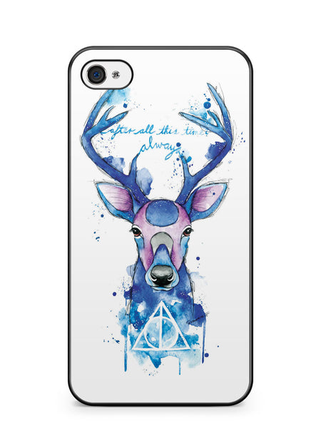 After All This Time Always Patronus Apple iPhone 4 / iPhone 4S Case Cover ISVA462