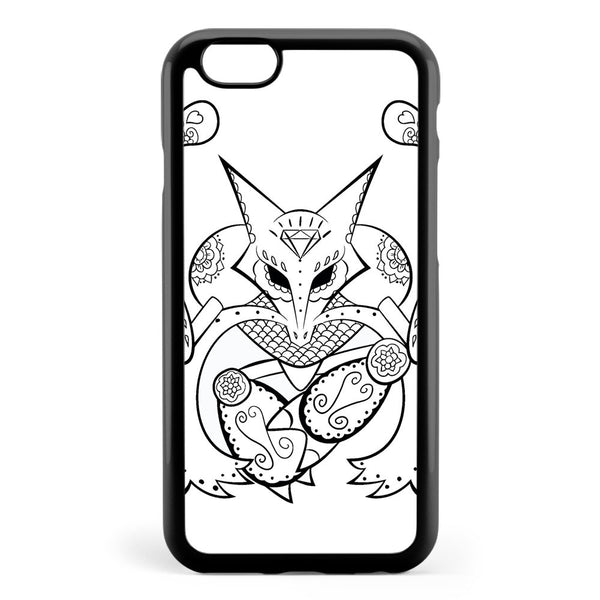 Alakazam De Los Muertos Pokemon & Day of the Dead Mashup Apple iPhone 6 / iPhone 6s Case Cover ISVB925