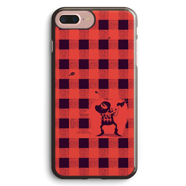 Almost a Lumberjack Pattern Apple iPhone 7 Plus Case Cover ISVD824
