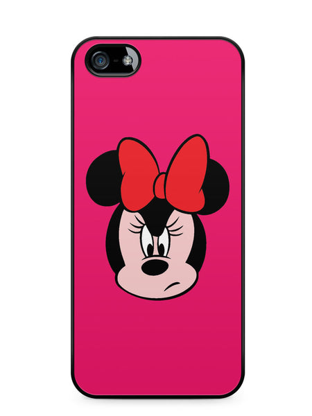 Angry Face Minnie Mouse Apple iPhone SE / iPhone 5 / iPhone 5s Case Cover  ISVA388