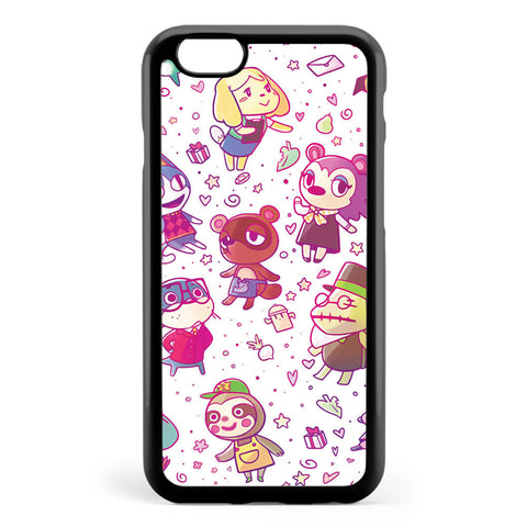 Animal Crossing Pattern Apple iPhone 6 / iPhone 6s Case Cover ISVB933