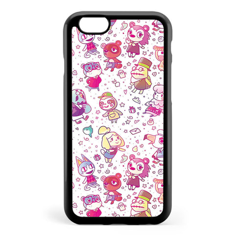 Animal Crossing Pattern Apple iPhone 6 / iPhone 6s Case Cover ISVE912