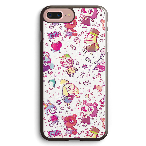 Animal Crossing Pattern Apple iPhone 7 Plus Case Cover ISVE912
