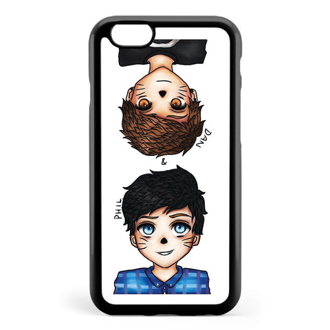 Anime Dan and Phil Apple iPhone 6 / iPhone 6s Case Cover ISVB936