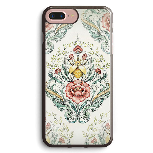 Antique Pattern Beetle and Centipedes Apple iPhone 7 Plus Case Cover ISVE916