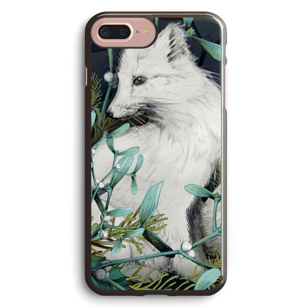 Arctic Fox Holiday Portrait Apple iPhone 7 Plus Case Cover ISVD205
