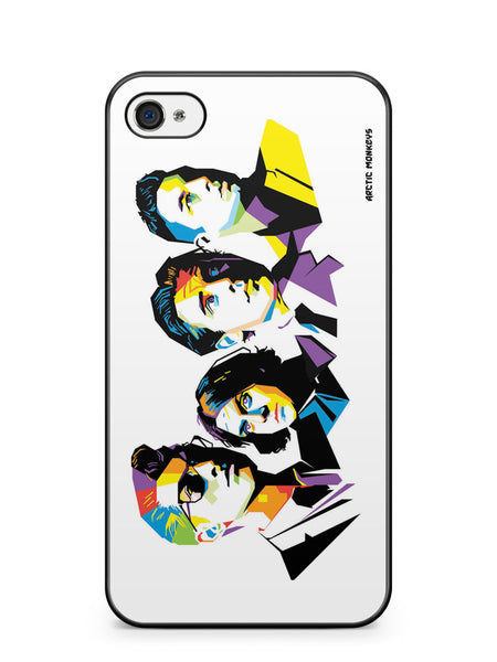Arctic Monkeys Popart Apple iPhone 4 / iPhone 4S Case Cover ISVA007