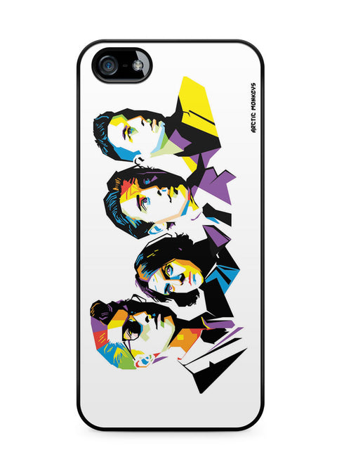 Arctic Monkeys Popart Apple iPhone 5c Case Cover ISVA007