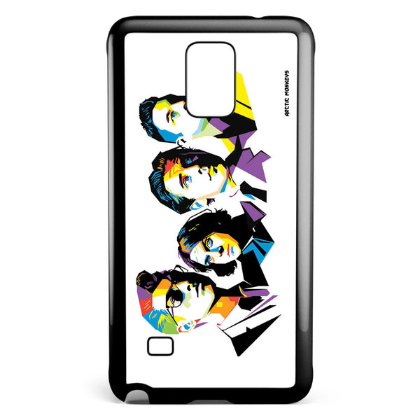 Arctic Monkeys Popart Samsung Galaxy Note 4 Case Cover ISVA007