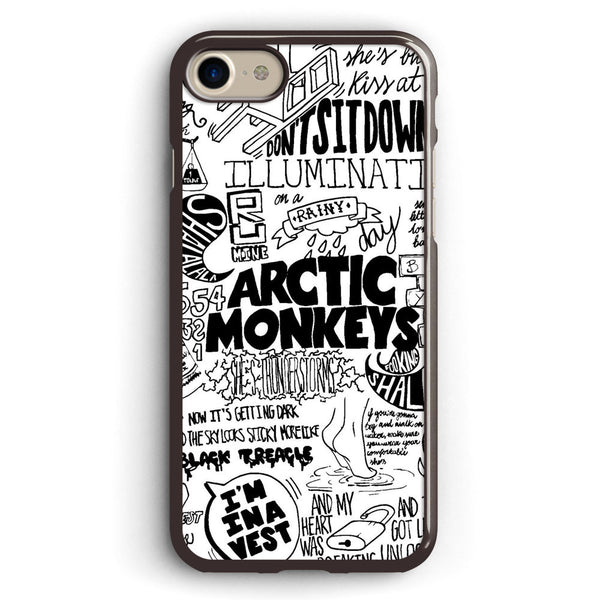 Arctic Monkeys Suck It and See Lyrics Apple iPhone 7 Case Cover ISVA005