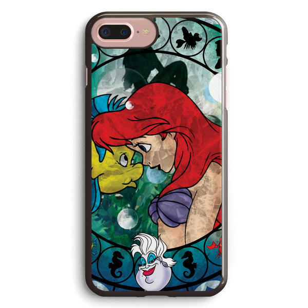 Ariel Stained Glass Apple iPhone 7 Plus Case Cover ISVC616