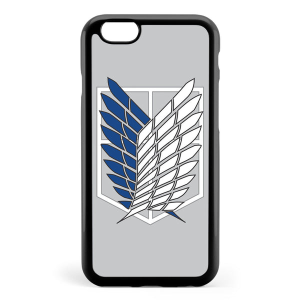 Attack on Titan Corp Logo Grey Apple iPhone 6 / iPhone 6s Case Cover ISVE381