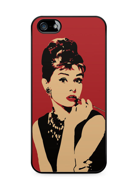 Audrey Hepburn Apple iPhone 5c Case Cover ISVA404