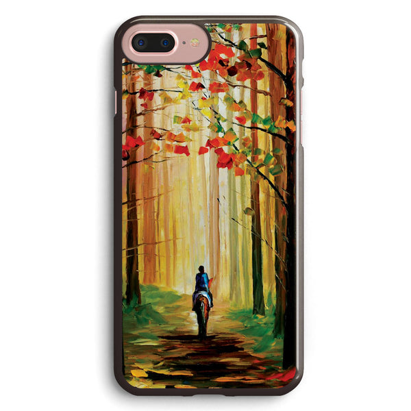 Autumn Stroll on a Horse Apple iPhone 7 Plus Case Cover ISVB392