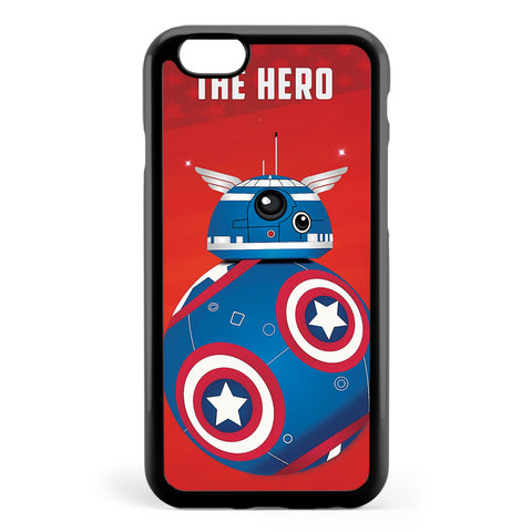Bb8 Friends Series 1 the Hero Apple iPhone 6 / iPhone 6s Case Cover ISVH717