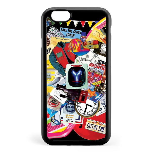 Back to the Future Trilogy Mix  saturated Version Apple iPhone 6 / iPhone 6s Case Cover ISVE931