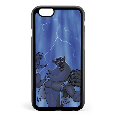 Badass Werewolf Roaring in Lightning Apple iPhone 6 / iPhone 6s Case Cover ISVE384