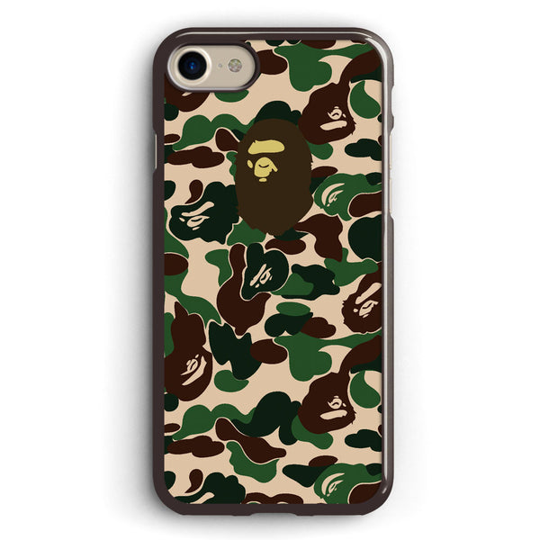 Bape Camo Green Apple iPhone 7 Case Cover ISVA011